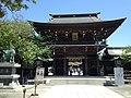 Romon of Miyajidake Shrine.JPG