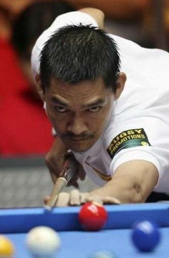Ronato Alcano - Ronato Alcano in the 2006 World Pool Championship at the Philippine International Convention Center