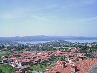 Roppolo Panorama dal Castello.JPG