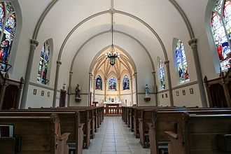Our Lady of the Assumption (Windsor, Ontario) - Interior of the Rosary Chapel, 2017