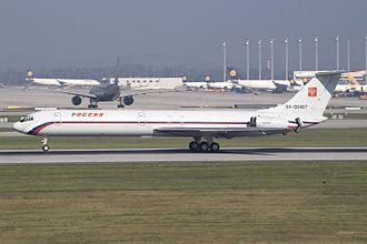 Ilyushin Il-62 - Rossija' (Russian State Transport Company) Ilyushin Il-62 RA-86467 at Munich Airport
