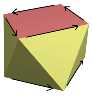 Improper rotation - Image: Rotoreflection example square antiprism