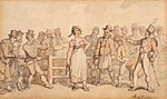 Rowlandson, Thomas - Selling a Wife - 1812-14.jpg