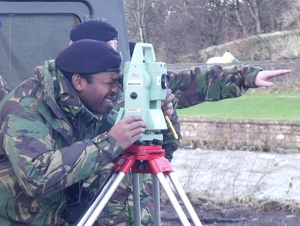 Royal Engineers Metcalf and Manduwi (photo Andy V Byers)