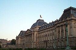 A királyi palota Brüsszelben