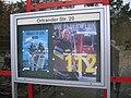 Ruhland, Ortrander Str. 20, Schaukasten vor der Feuerwehr.jpg