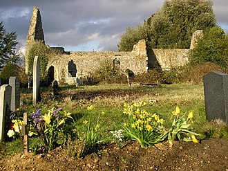 Alresford, Essex - Image: Ruins of St Peter's Church geograph.org.uk 122735