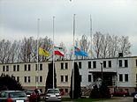 Rumia Town Hall after president's plane crash 2010.jpg