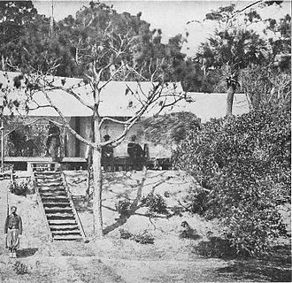 Folly Island - Union occupation forces in July 1863