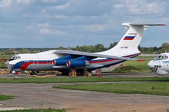 2009 Yakutia Ilyushin Il-76 crash - Image: Russian Ministry of Internal Affairs Ilyushin Il 76MD Dvurekov 1