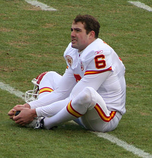 Ryan Succop - Succop with the Chiefs in January 2010