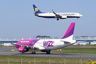 Low-cost carrier Airline with generally lower fares
