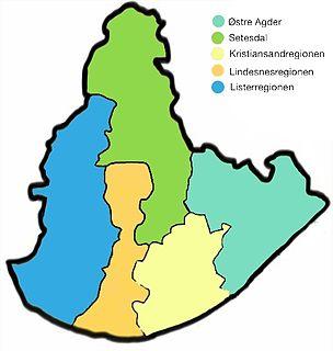 Kristiansand Region Metropolitan Region in Kristiansand, Norway
