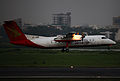 S2-AHB Bombardier Dash 8-Q311 Regent Airways Landing (8306276046).jpg