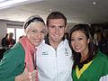 SABC3 Expresso presenters Jen Su and Liezel van der Westhuizen with Olympic Gold Medalist Cameron van der Burgh.jpg
