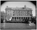 SOUTHWEST FACADE - Kykuit, John D. Rockefeller, Sr. House, 200 Lake Road, Pocantico Hills, Westchester County, NY HABS NY,60-POHI,1A-8.tif