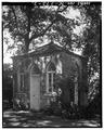 SOUTH (left) AND EAST SIDES - William Blacklock Gazebo, 18 Bull Street, Charleston, Charleston County, SC HABS SC,10-CHAR,130C-2.tif