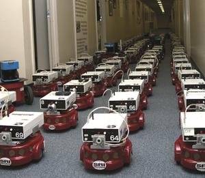 Centibots - Image: SRI Robotics Centibots