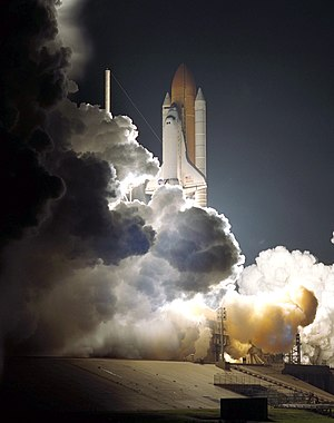 STS-104 - Launch of Space Shuttle Atlantis on STS-104 mission.