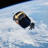 STS-51-A Westar 6 retrieval