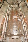 STS-98 U.S. Lab Destiny rests in Atlantis' payload bay (KSC-01PP-0105).jpg