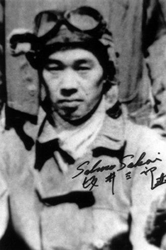 Saburō Sakai - Sakai in flightsuit
