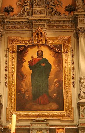 Église Notre-Dame-du-Mont - Image: Sacré coeur (Papety)