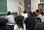 Sailors and Marines from USS Bonhomme Richard visit students in Guam 120928-N-WX580-091.jpg