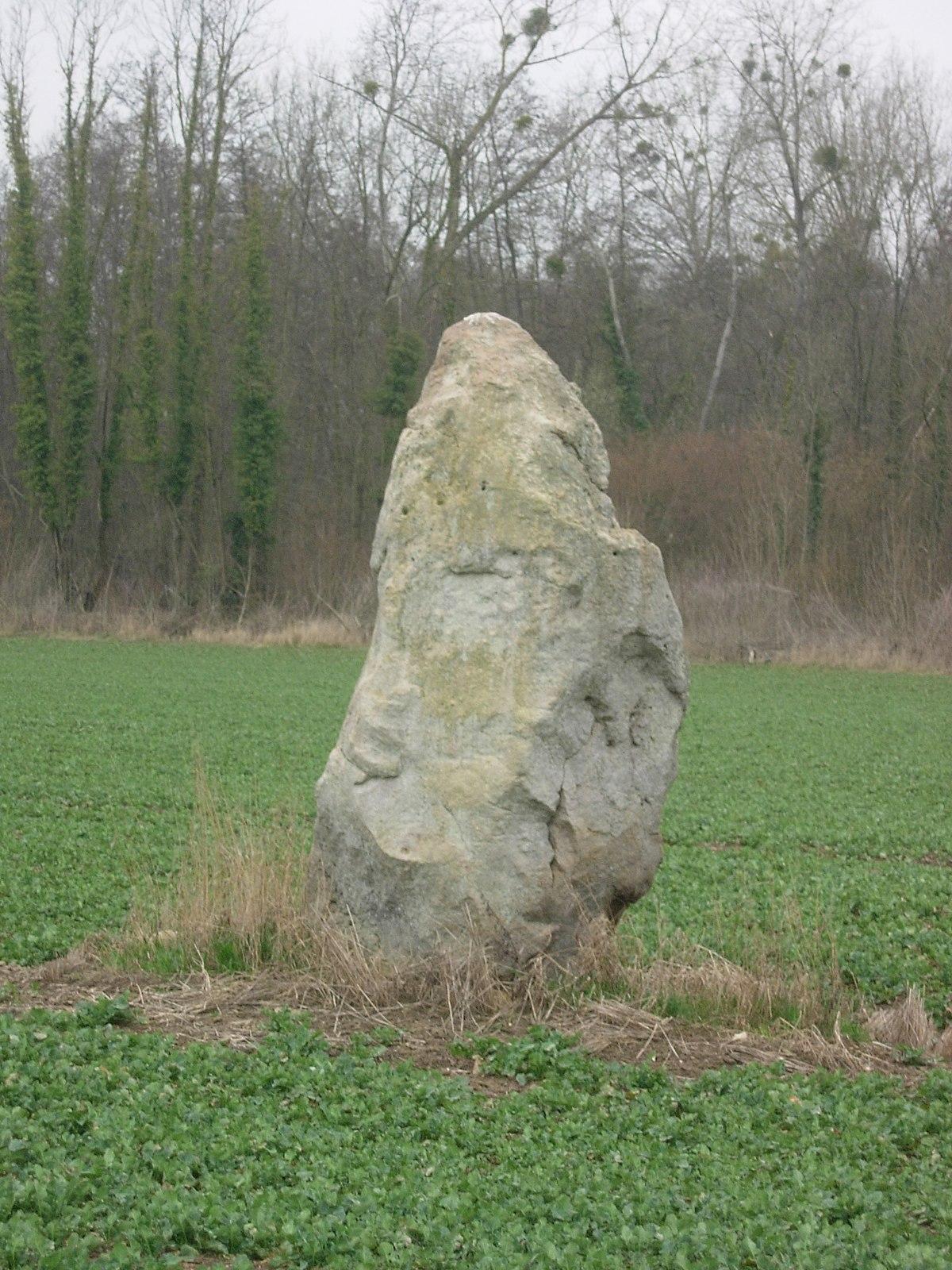 Menhir de la grande pierre wikip dia for Haute pierre