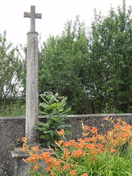 Saint-Remimont (M-et-M) croix de chemin