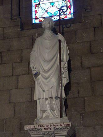 Flavius of Rouen - Image: Saint Filleul