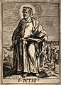 Saint Peter. Engraving. Wellcome V0032860.jpg