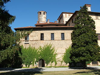 Marquisate of Saluzzo - The Castello della Manta, a possession of the lords of Saluzzo.