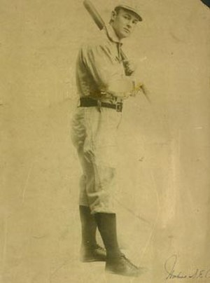 Sam Crawford - Sam Crawford in his rookie season with the Reds, 1899