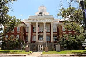 San Saba County, Texas - Image: San Saba Courthouse 1