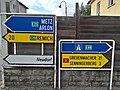 Sandweiler, Findel signalisation directionnelle.jpg