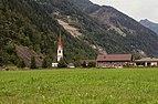 Sankt Johann im Walde, dorpszicht met de Katholische Pfarrkirche Sankt Johannes der Täufer Dm2659 IMG 1516 2019-08-07 12.19.jpg