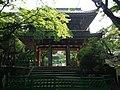 Sanmon Gate of Kozanji Temple in Chofu, Shimonoseki, Yamaguchi.JPG
