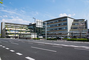 Kyoto Municipal Transportation Bureau - Sansa Ukyō in Ukyō-ku, where Kyoto Municipal Transportation Bureau headquarters