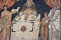Sant'apollinare in classe, mosaici del catino, sacrifici di abele, melchidesech e abramo, 650-700 ca. 04.jpg