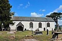 Sant Saeran Llanynys Sir Ddinbych Denbighshire North Wales 30.JPG