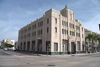 Santa Ana, California - Old Santa Ana City Hall, built 1935