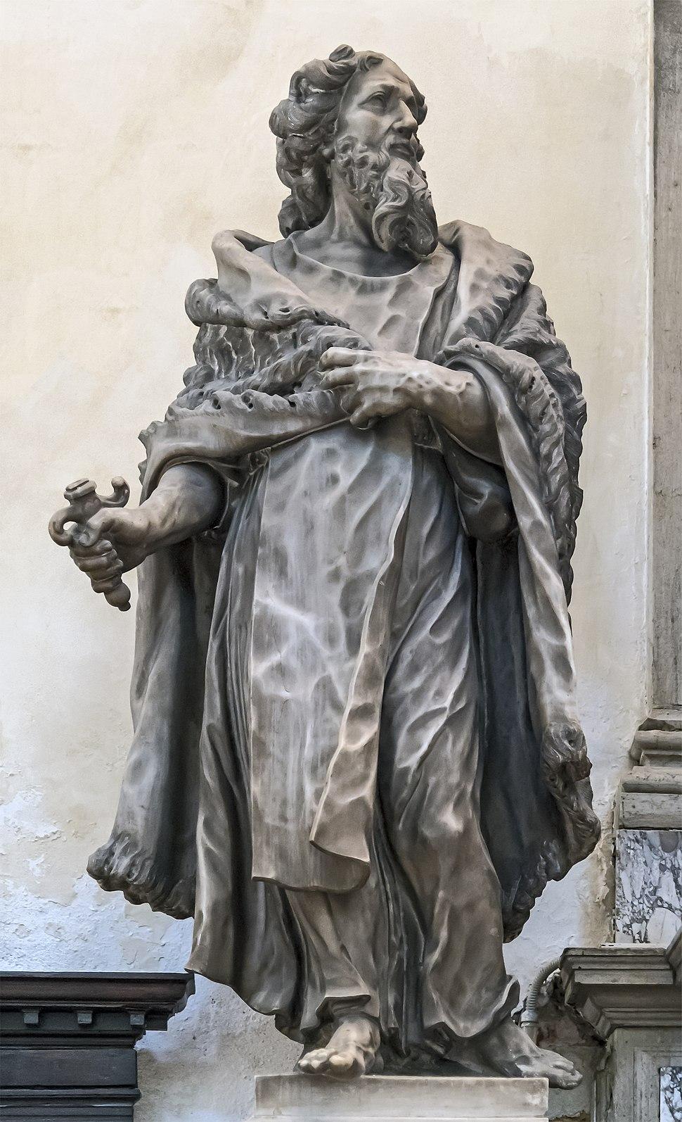 Santa Maria dei Carmini (Venice) - Chapel of St. Anthony of Padua - Elijah by Tommaso Rues
