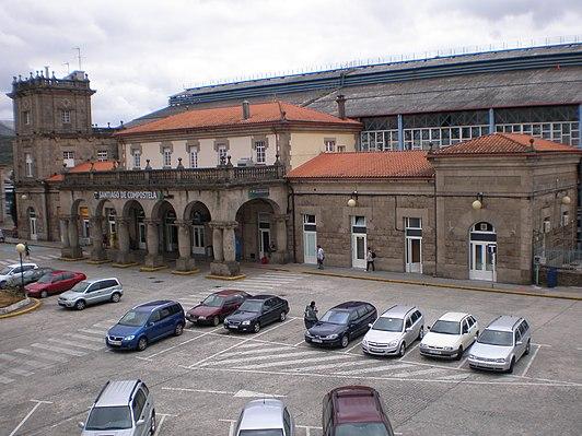 Estación de Santiago de Compostela