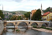 Sarajevo Lateinerbrücke 1.JPG