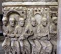 Sarcofago detto di stilicone, IV secolo, gesù tra gli apostoli 02.jpg