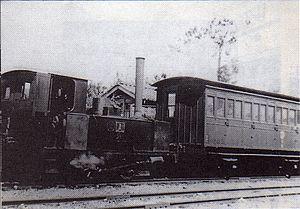 Fukuchiyama Line - Train at Sasayama-Cho station