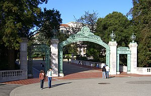 Sather Gate - Sather Gate in October 2006