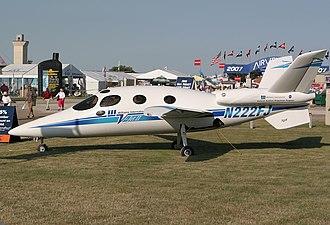 Williams V-Jet II - Image: Scaled Composites 271 V Jet II (N222FJ)