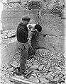 Scheveningen, het slopen van de bunkers en versperringen, Bestanddeelnr 900-9454.jpg